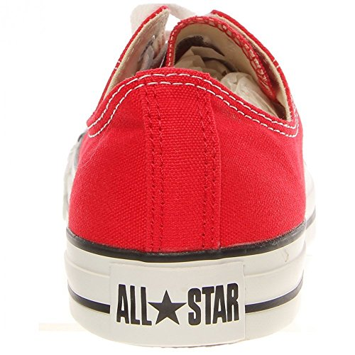 Converse Ctas Mono Ox 015490-610-8, Sneaker Unisex adulto Red