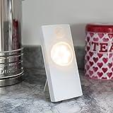 Luz inalámbrica de LED con sensor de movimiento de pilas de Lights4fun