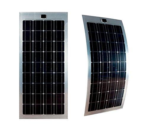 Flexibles Solarmodul 100Watt 12Volt Mono Flex 100Watt Solarpanel MONOKRISTALLIN