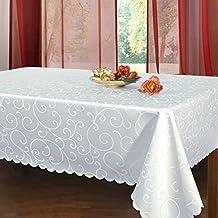 Un bordo elegante per la tovaglia - Tovaglia tavolo quadrato ...