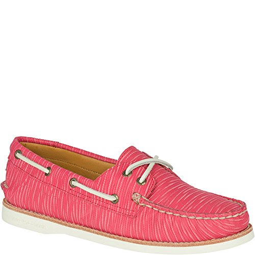 Sperry Top-Sider Gold Cup A/O Women's Wild Rose Boat Shoe 5.5M (Cup Sperry Gold)