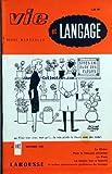 Telecharger Livres VIE ET LANGAGE No 102 du 01 09 1960 SOMMAIRE POUR LE FRANCAIS UNIVERSEL LE CHENE PAR RENE MONNOT MOTS CROISES LITTERAIRES PAR J CAPELOVICI LE SPOONERISM PAR JOHN ORR LA DEFENSE DE LA LANGUE FRANCAISE PAR G GOUGENHEIM LA PEAU PAR MAURICE RAT PROPOS CANADIENS DIRIGISME NECESSAIRE PAR GERARD DAGENAIS QUART ET CARROUGE PAR EMILE THEVENOT PROMENADE TOPONYMIQUE PAR C P BODINIER LA LANGUE LEUR A FOURCHE PAR ADRIEN BERNELLE VILLENEUVE SAINT GEORGES ET CORDOUE PAR ROBERT RICARD (PDF,EPUB,MOBI) gratuits en Francaise