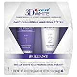 Crest 3D White Brilliance Daily Cleansing Toothpaste and Whitening Gel System, 70ml