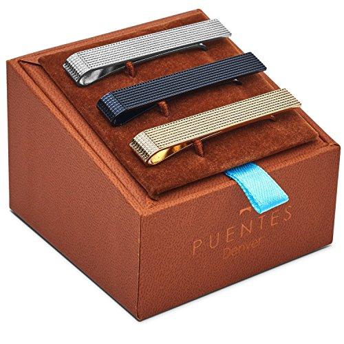 set-de-3-pc-pasador-de-corbatas-54-cm-pisacorbatas-tono-plateado-dorado-y-negro-textura-en-caja-de-r