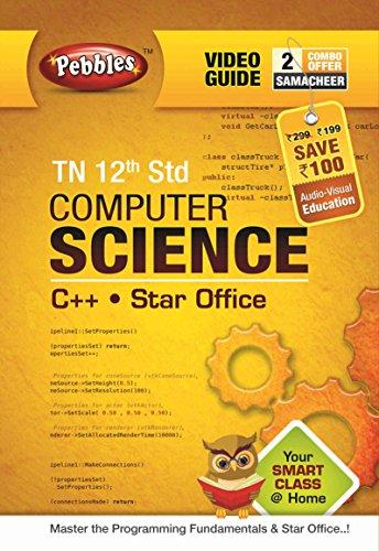 Pebbles Tn 12th Computer Science - Samacheer (DVD)