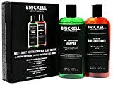Brickell Men's Daily Revitalizing Hair Care Routine - Shampoo mit Minze und Teebaumöl und...