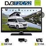 Telefunken T24X740 MOBIL LED TV DVD 24 Zoll DVB