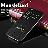 HTC Desire 10 Pro Flip Cover Matrix Flip Cover An inner hardshell a Secure Grip, Four Corner Protection Easy Snap-on Case Delivers Instant all Round Protection From Scratches Perfectly Fits Your Mobile Device - Black