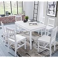 Tisch Mit 6 Stühlen suchergebnis auf amazon de für tischgruppe 6 stühle möbel