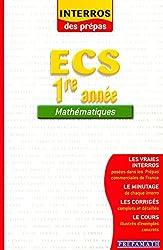 Mathématiques ECS 1ère année