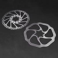 Forfar Flotador Disco de rotores de frenos 180 mm 6Bolt Peso ligero Aleación MTB de la bicicleta de montaña flotante Rotores de frenos de bicicleta