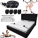 Sex Bondage mit Seile Erwachsene Spiel Sex Toys für Paare Bett Fessel Erotische Kit SM