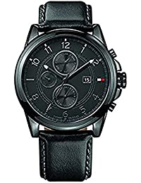 Tommy Hilfiger Analog Black Dial Men's Watch - NATH1710295