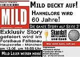 Einladungskarten zum Geburtstag als Zeitung Einladung Meldung Magazin - 20 Stück