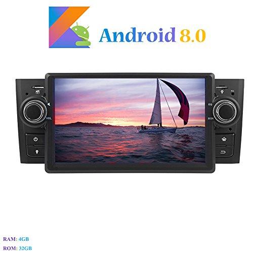 Android 8.0 Autoradio, Hi-azul 1 DIN 7 Pulgadas Radio de Coche 8-Core...