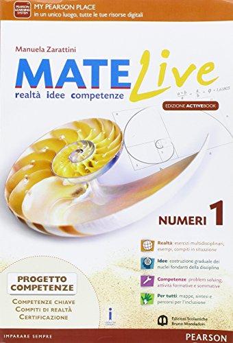 Matelive. Ediz. activebook. Per la Scuola media. Con e-book. Con espansione online: 1