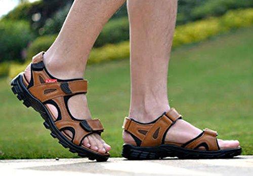 Insun Sandali A Punta Aperta Uomo Scarpe Da Arrampicata Cachi