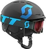 Scott bambini Combo Apic JR WITTY Ski Casco e occhiali, Bambini, Combo Apic Jr Jr Witty, nero/blu, S