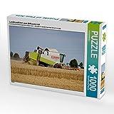 Landmaschinen zum Anfassen nah 1000 Teile Puzzle quer