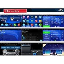 Rupse Sistema de Navegación GPS Multimedia para Automóviles con Android 4.4.4 Sistema Pantalla Multi Táctil Función de Bluetooth Música Manos Libres para 2004-2010 BMW X3