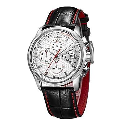 Reloj de Cuarzo multifunción para Hombre con cronógrafo y Reloj Deportivo