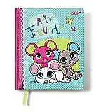 Nici 37788 - Kindergarten Freundebuch Mäuse, deutsch, 15 x 18 cm