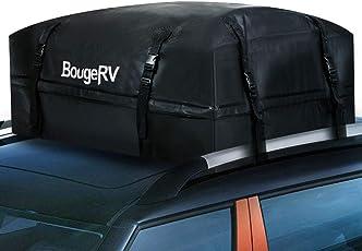 BougeRV 15 Cubic Feet Wasserdicht Dachgepäckträger Dachbox Auto Universal Dach Beutel Dachtasche Aufbewahrungsbox für Reise, Feiertage und Gepäcktransport, Autos, Vans, SUVs