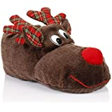 Loungeable Boutique Womens Novelty Animal Slippers