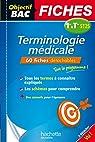 Objectif Bac Fiches Détachables Terminologie médicale 1ère et Term ST2S par Babusiaux