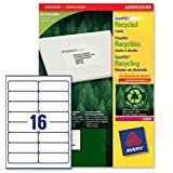 AVERY 16-up FBA Products Labels A4 Size 2by8 Label For Fulfillment Services Seller 55 Sheets ( 880 stickers WHITE )/Avery Easy Peel White Mailing Labels for Laser Printers// 16 A4 Size Sticker Paper Self-adhesive Paper Label (White)