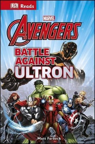 Marvel Avengers Battle Against Ultron (DK Reads Reading Alone)