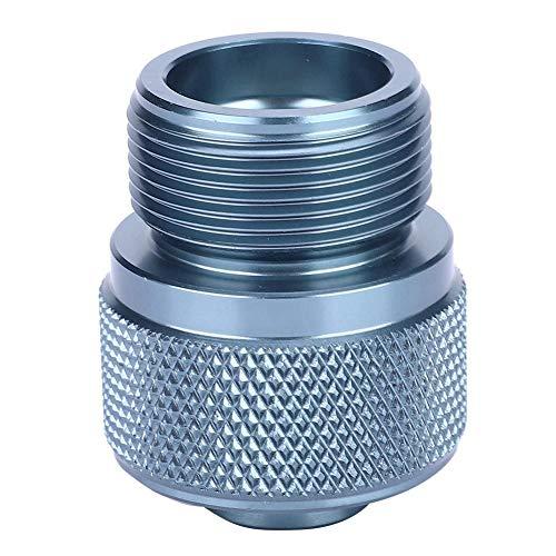 Alomejor Outdoor Camping Gas Kanister Adapter Konverter Ventil Flach Kanister auf 1L MAPP Gas Tank Adapter