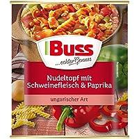 Buss  Nudeltopf mit Schweinefleisch & Paprika ungarischer Art,  800 g