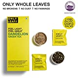 #7: Onlyleaf Dandelion Green Tea, 27 Tea Bags with 2 Free Exotic Samples