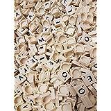 Rainbow 7 Creations Pieza de plástico con letras, de color marfil, para juego Scrabble