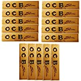 SCORIA OCB King Size Rolling Paper Gold Pack Of 15 (480 Leaves)