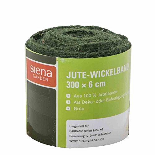 Star 3073270 Jute-Wickelband 3 m, grün