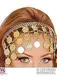 Magic Box Int. Griechischer Göttin-Goldmünze-Kopfschmuck der Frauen