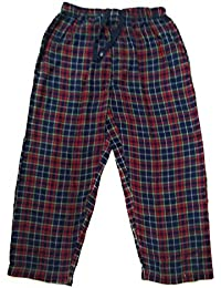 Twist Men's Red And Navy And Green Checked 100% Cotton Pyjama Sleepwear Night Wear With Contrast & Free Shipping