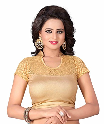 Sr Studio Women'S Designer Party Wear Collection Low Price Sale Offer Readymade Stretchable Saree Blouses  available at amazon for Rs.299