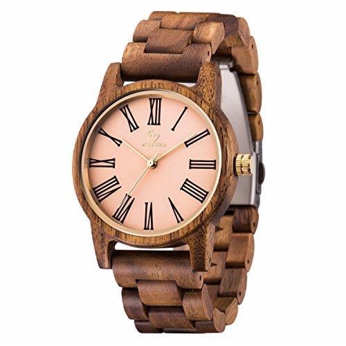 Die Beste Holzkern Uhren Herren Mujuze Naturliche Unisex Damenuhren