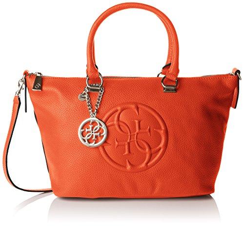 guess-korry-crush-satchel-womens-shoulder-bag-orange-orange-one-size-fits-all-eu