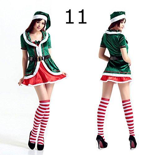 Frauen sü?e Fr?ulein Sankt-Klage-Erwachsen Sweetie Weihnachten Xmas Party-Kostüm-Kleid One (Kostüme Sweetie Santa)