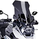 Windshield Touring Puig BMW R 1200 GS Adventure 14-16 dark smoke