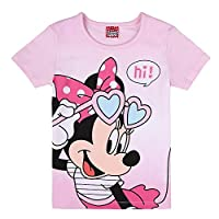 Disney Girl's Minnie Mouse T-Shirt, Pink (Pink Lady 832), 4 Years