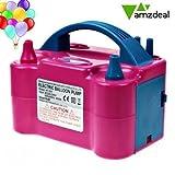 Amzdeal Luftballonpumpe elektrische 600W, Ballonpumpe mit automatik & halbautomatisch Modi und tragbare Ballons Pumpe für Geburtstagsfeiern, Party, Hochzeitsfeiern