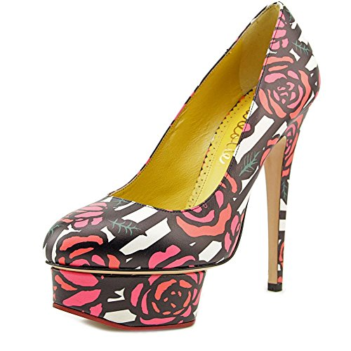 charlotte-olympia-dolly-women-us-8-multi-color-platform-heel-eu-38