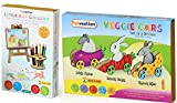 #10: Funvention Little Art Gallery & Veggie Cars Combo Pack - Art & Craft Educational Toys - Birthday Gift Pack
