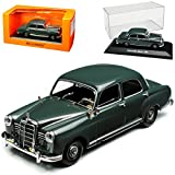 Minichamps Mercedes-Benz 180 W120 Kleiner Ponton Limousine Grau 1953-1962 1/43 Maxichamps Modell Auto