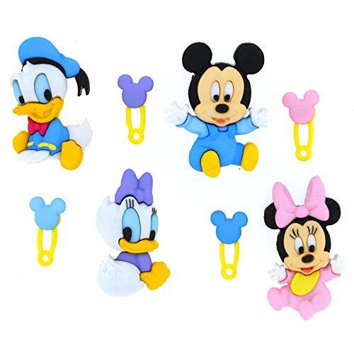 Disney Babys-Neuheit Craft Tasten & Verzierungen von Kleid IT UP
